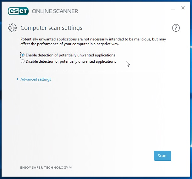 Is your computer ok? Scan your computer to detect malware with an